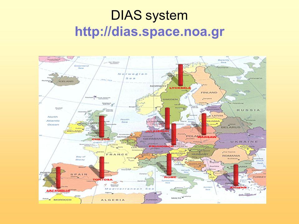 DIAS system http://dias.space.noa.gr