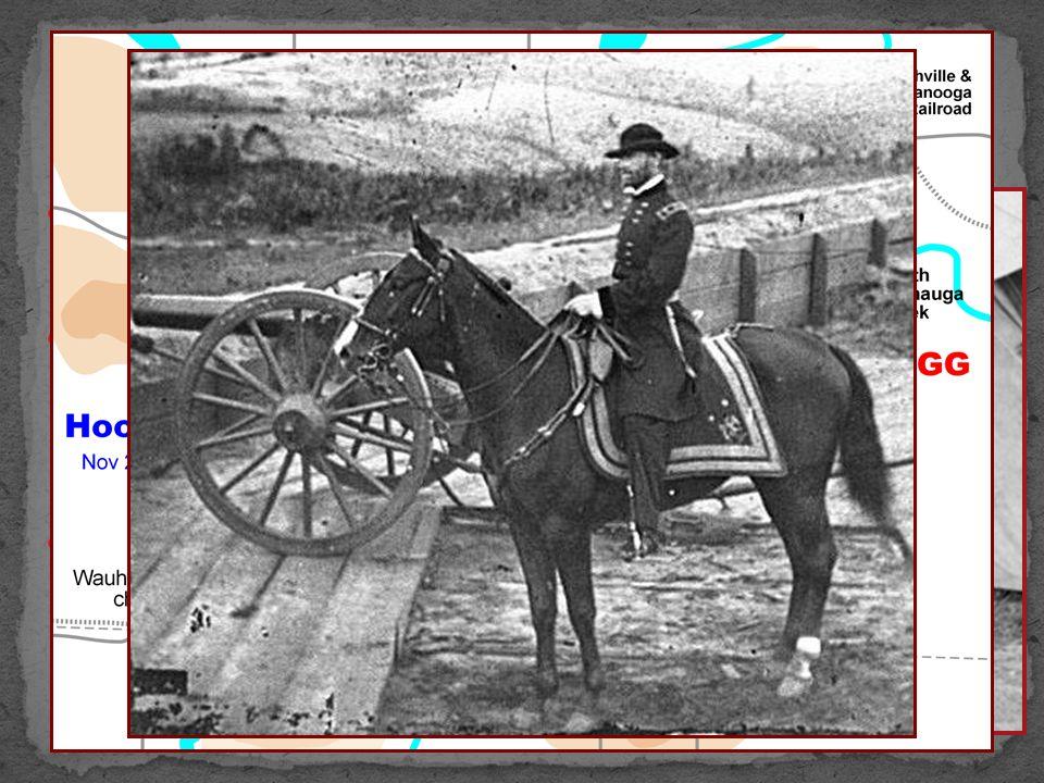 After Vicksburg, fighting began near Chattanooga Tenn.