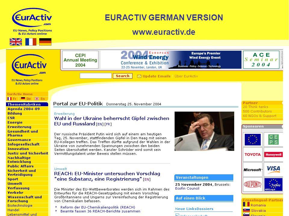 12 EURACTIV GERMAN VERSION www.euractiv.de