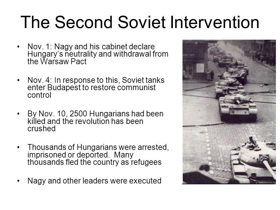 The Second Soviet Intervention Nov.