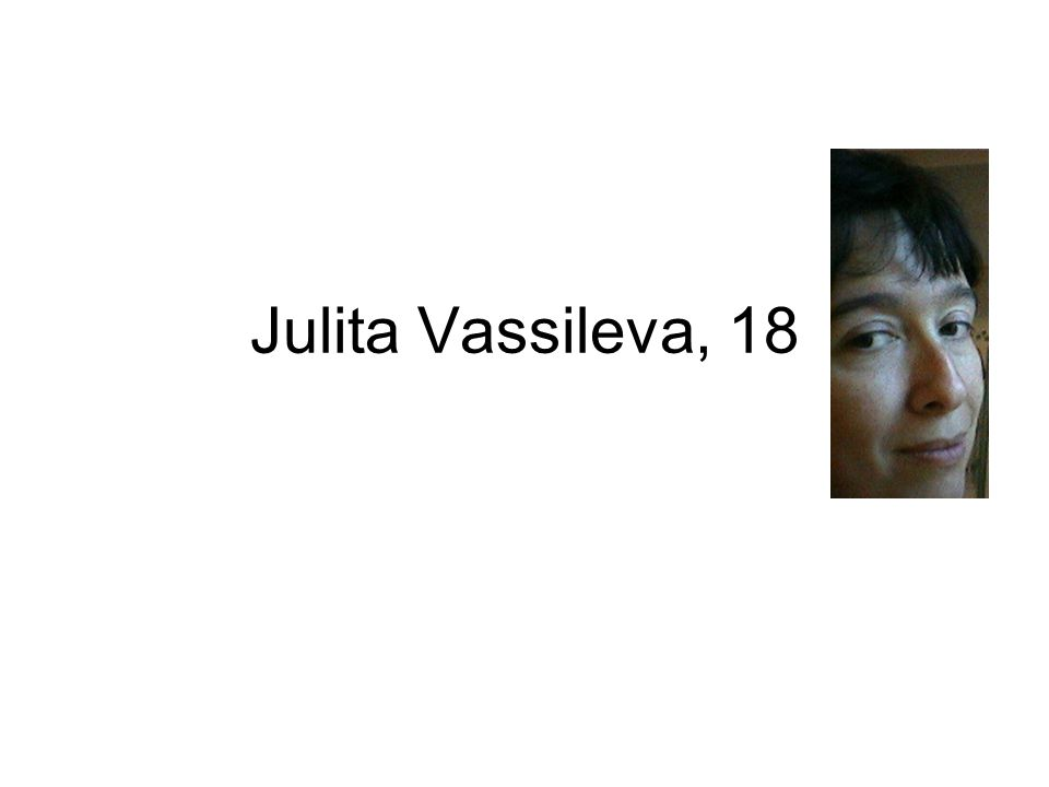 Julita Vassileva, 18