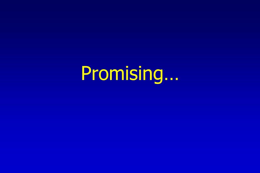 Promising…