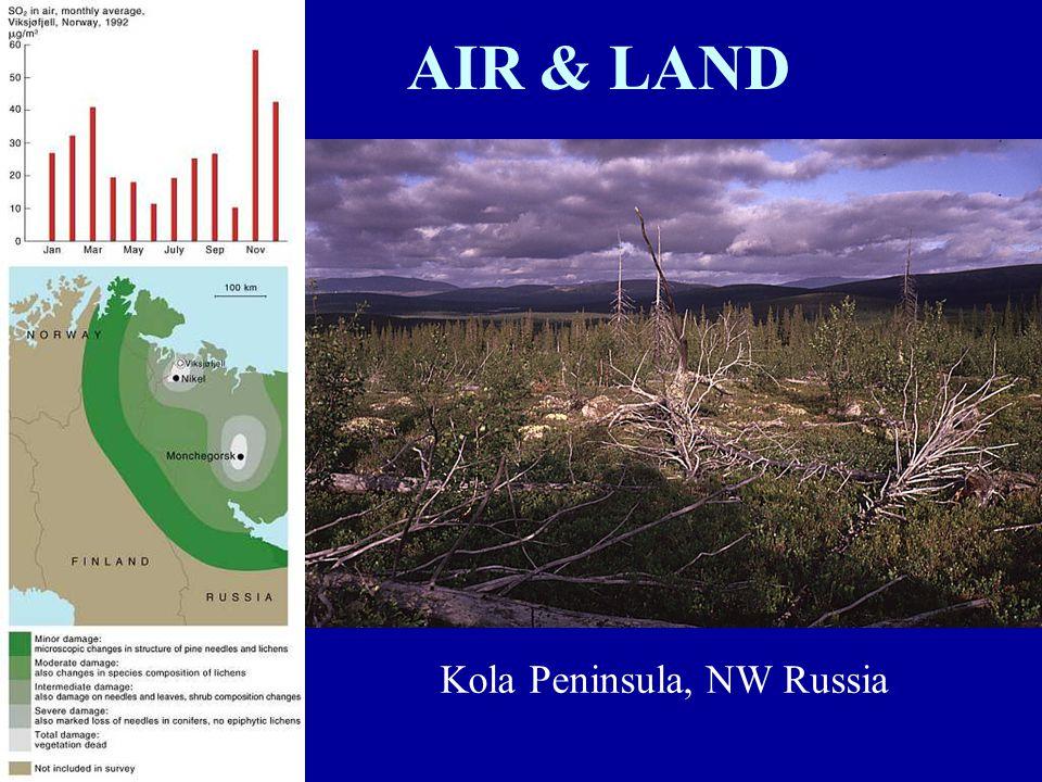 AIR & LAND Kola Peninsula, NW Russia