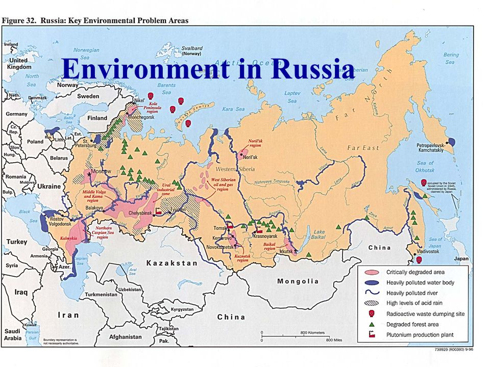 Environment in Russia