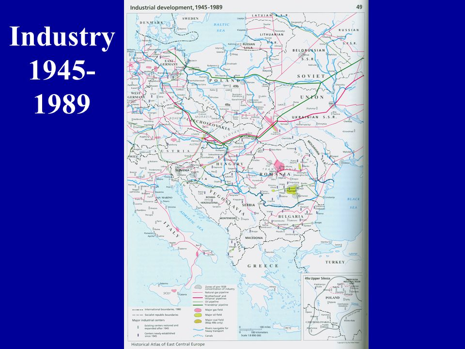 Industry 1945- 1989
