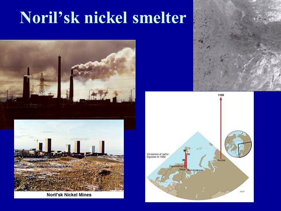 Noril'sk nickel smelter