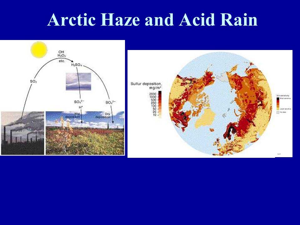Arctic Haze and Acid Rain