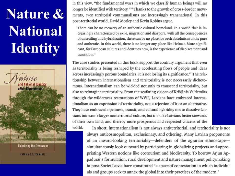 Nature & National Identity