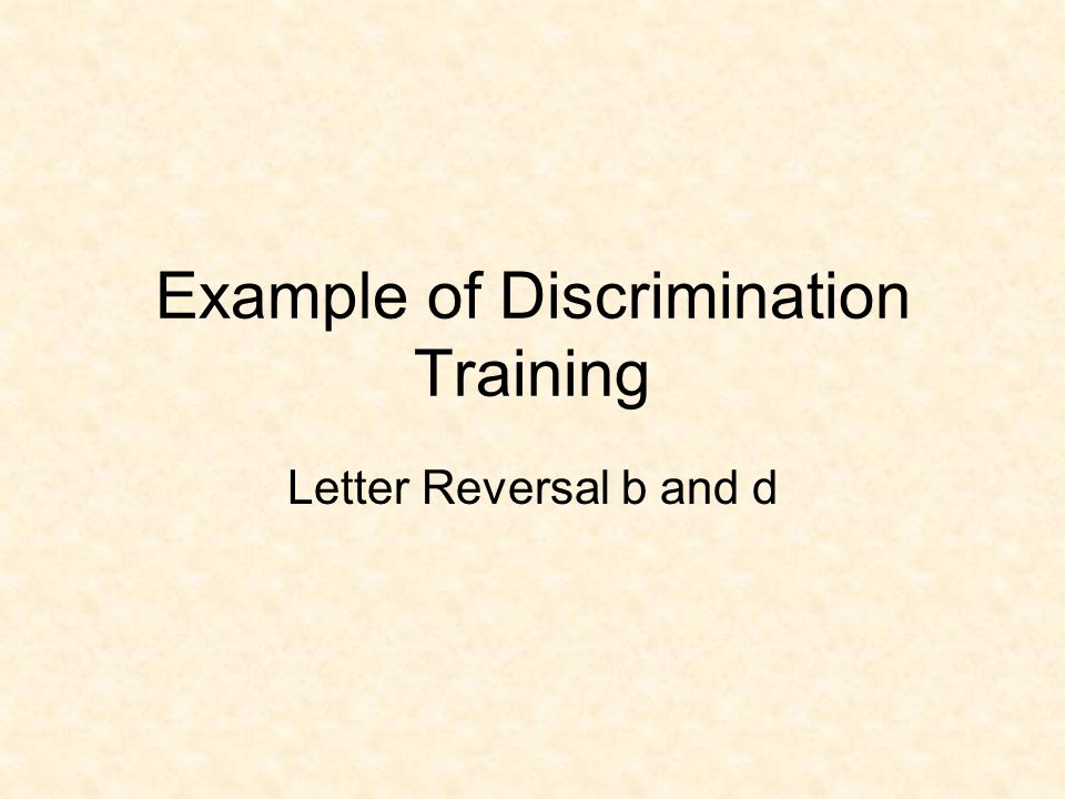Stage 3: Generalization General Measurement: Generalization/Transfer General Procedures: Practice (new response with other responses). Discrimination