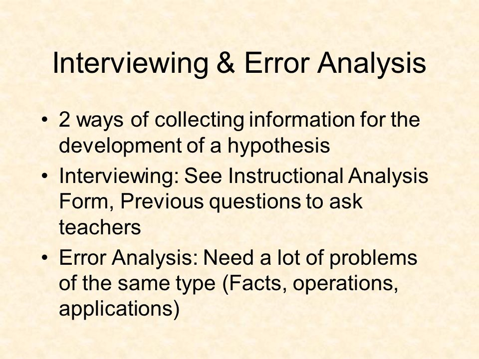 Math Assessments Irrelevant standards Irrelevant formats Lack empirically validated sequencing Inadequate samples of student behavior Provide little insight into why errors are made Not aligned with instructional objectives