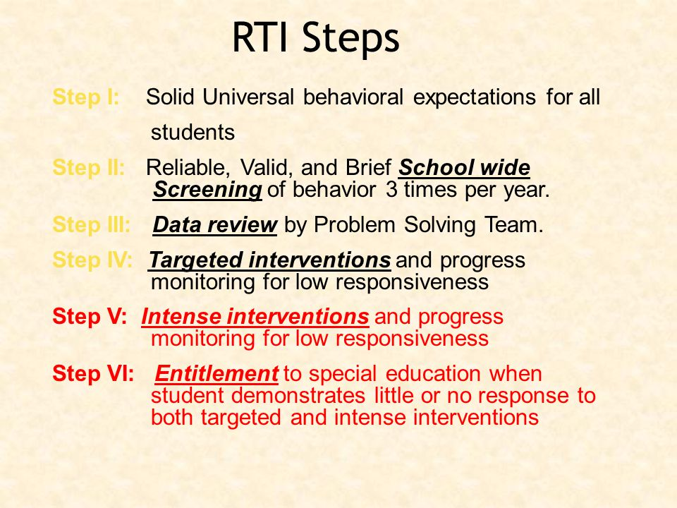 Tier III Individualized Intervention 5% Tier II Standard Protocol 15% Tier I Universal Instruction 80%