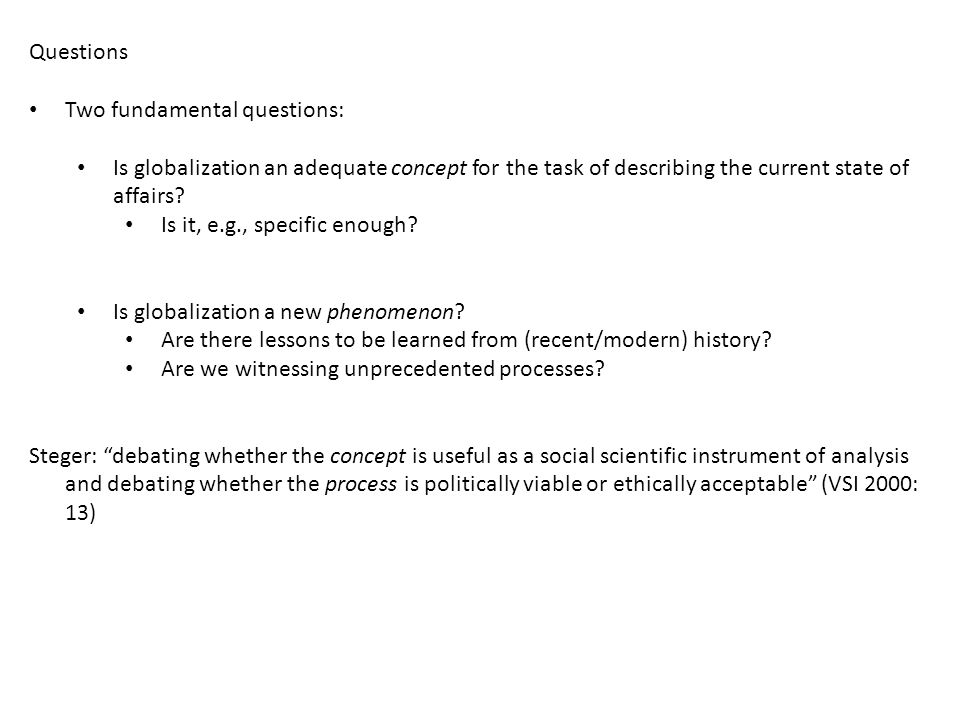 Questions > Concepts Background: this is a time of major changes, so: We need a conceptual machinery to understand and describe what is going on; Given such an understanding, we could evaluate both what we can do in this context (tools and policies), and what we should aim for (goals and norms).