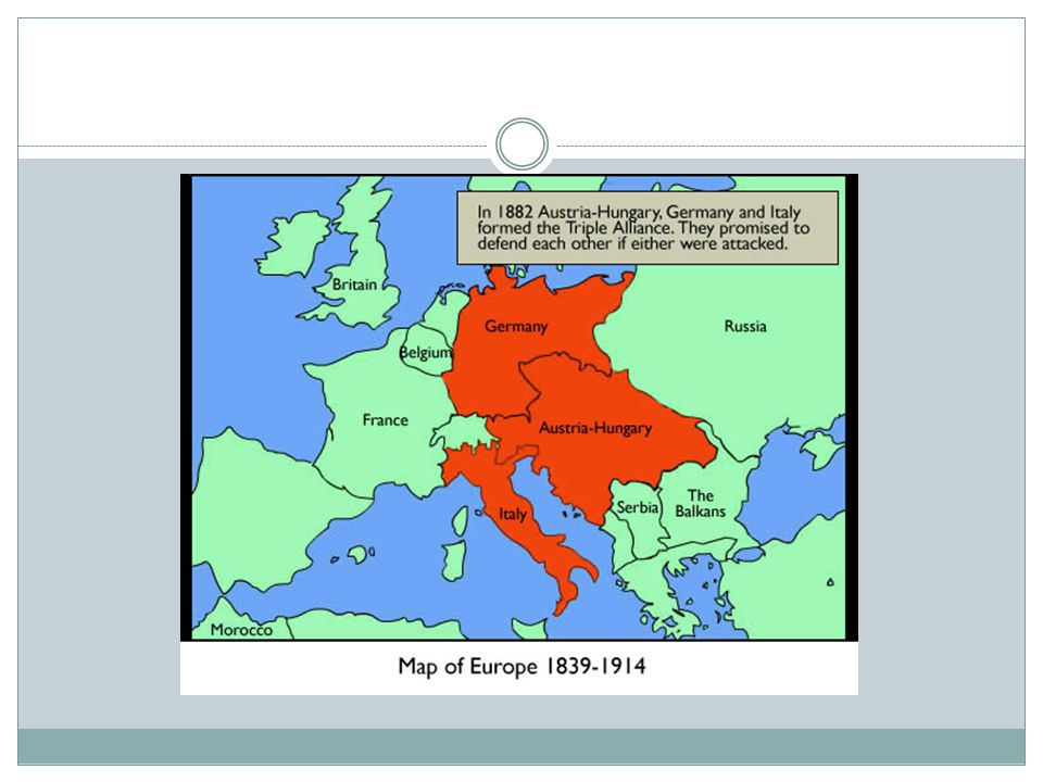 Triple Alliance Germany Austria Hungary