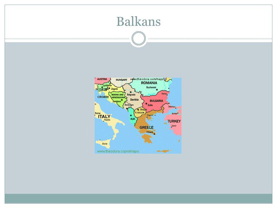 Balkans Balkans Bulg. Stara Planina (stä´rä plä´´nēnä´), major mountain range of the Balkan Peninsula Bulgaria, E Serbia and Montenegro through centra