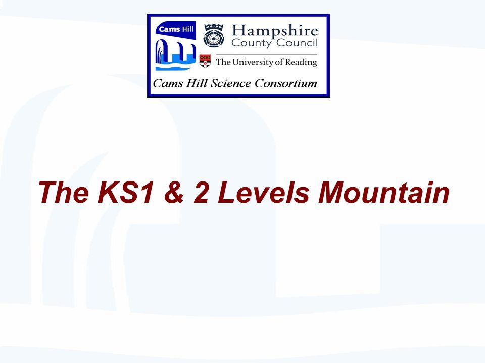 The KS1 & 2 Levels Mountain