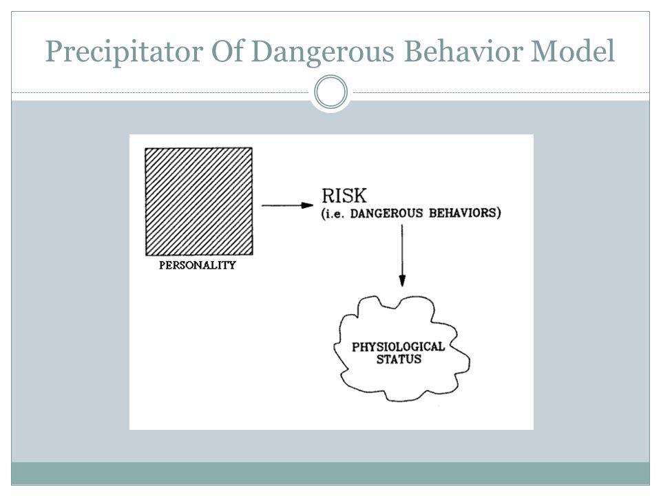 Precipitator Of Dangerous Behavior Model