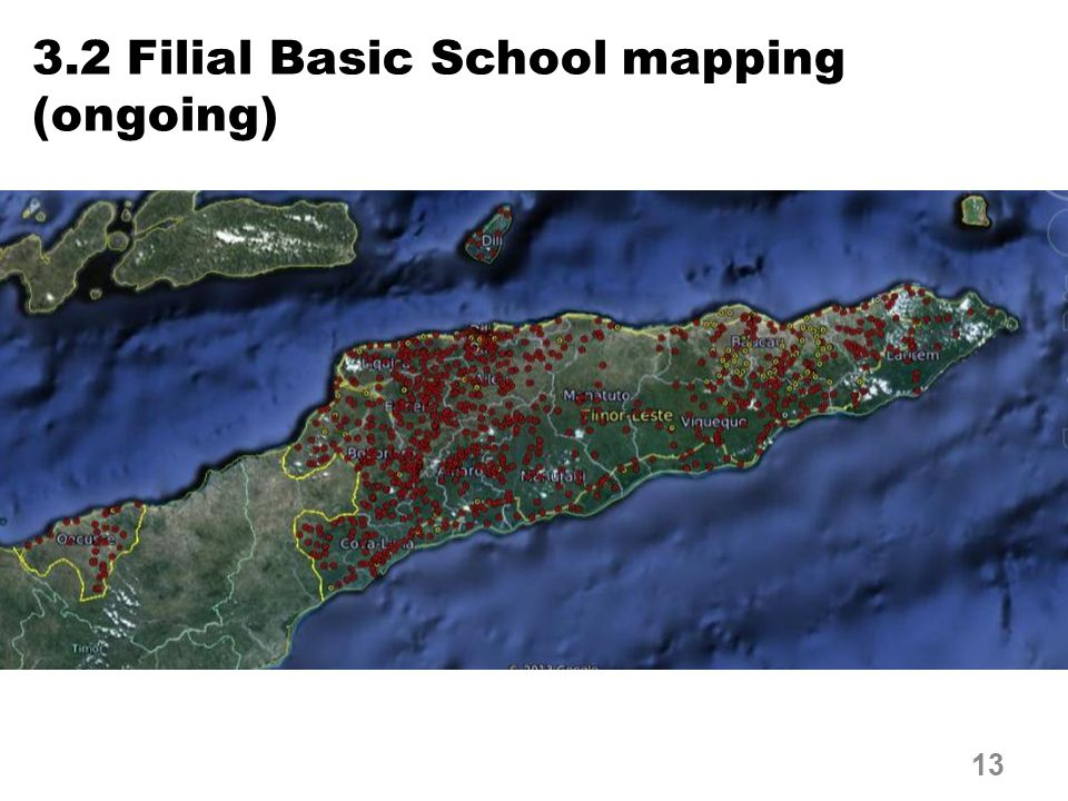 3.2 Filial Basic School mapping (ongoing) 13