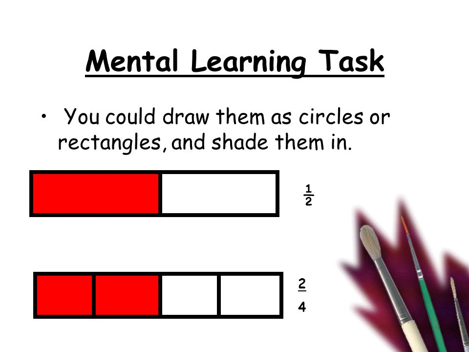 Main Learning Task Where would you place these fractions? 0 1 3636 3535 3434 2323