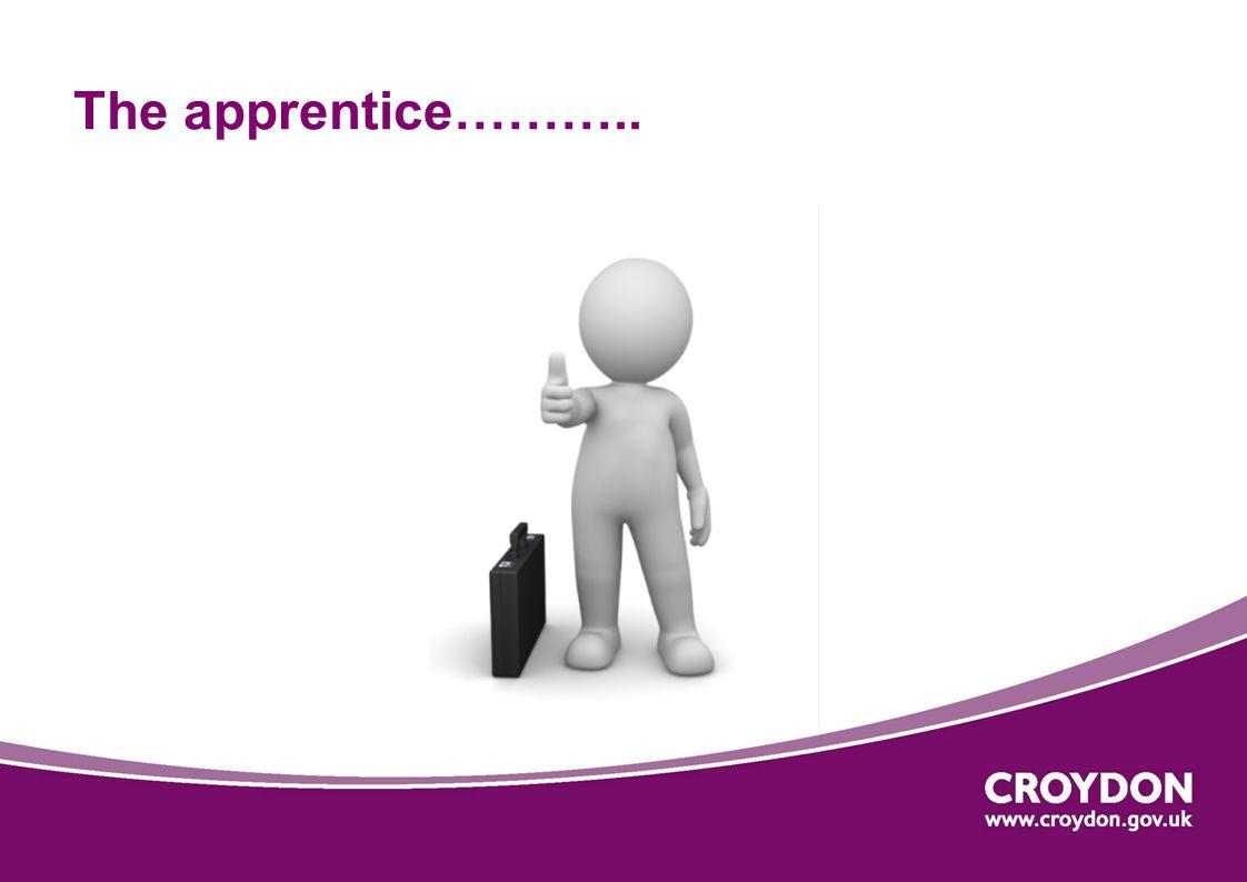 The apprentice………..