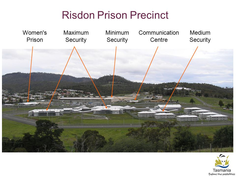 Minimum Security Medium Security Maximum Security Women s Prison Communication Centre Risdon Prison Precinct