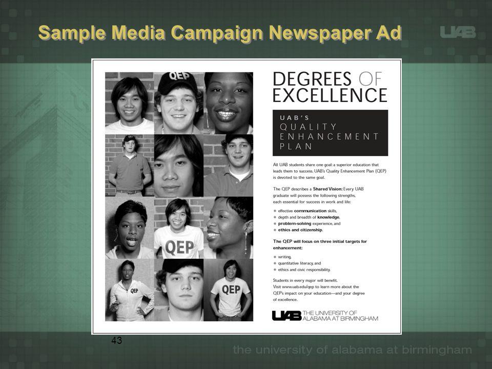 43 Sample Media Campaign Newspaper Ad