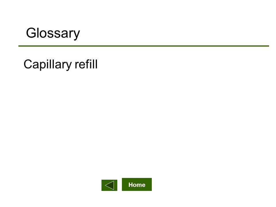 Home Glossary Capillary refill