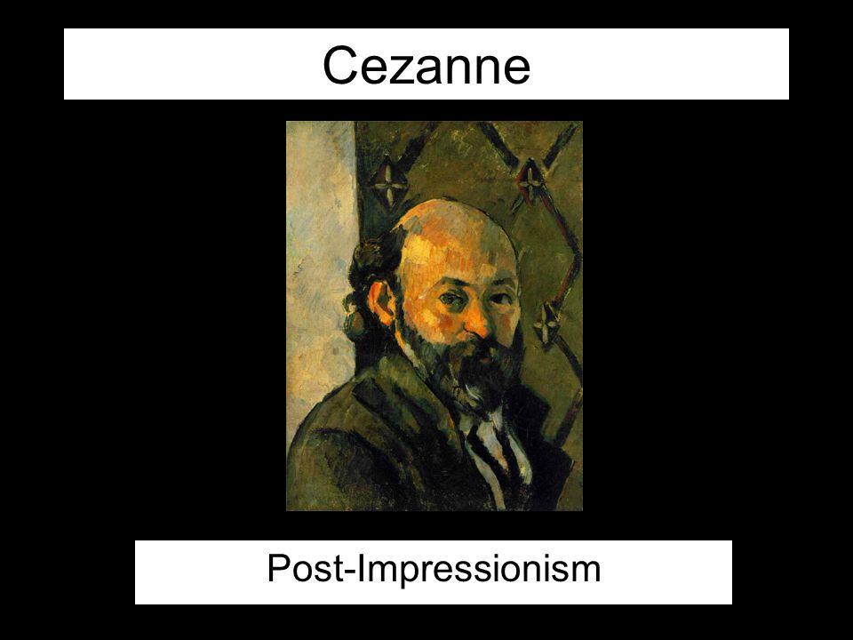 Cezanne Post-Impressionism