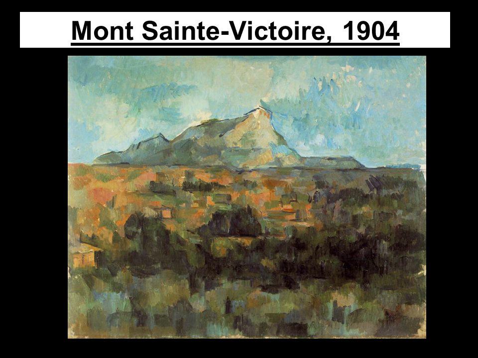 Mont Sainte-Victoire, 1904