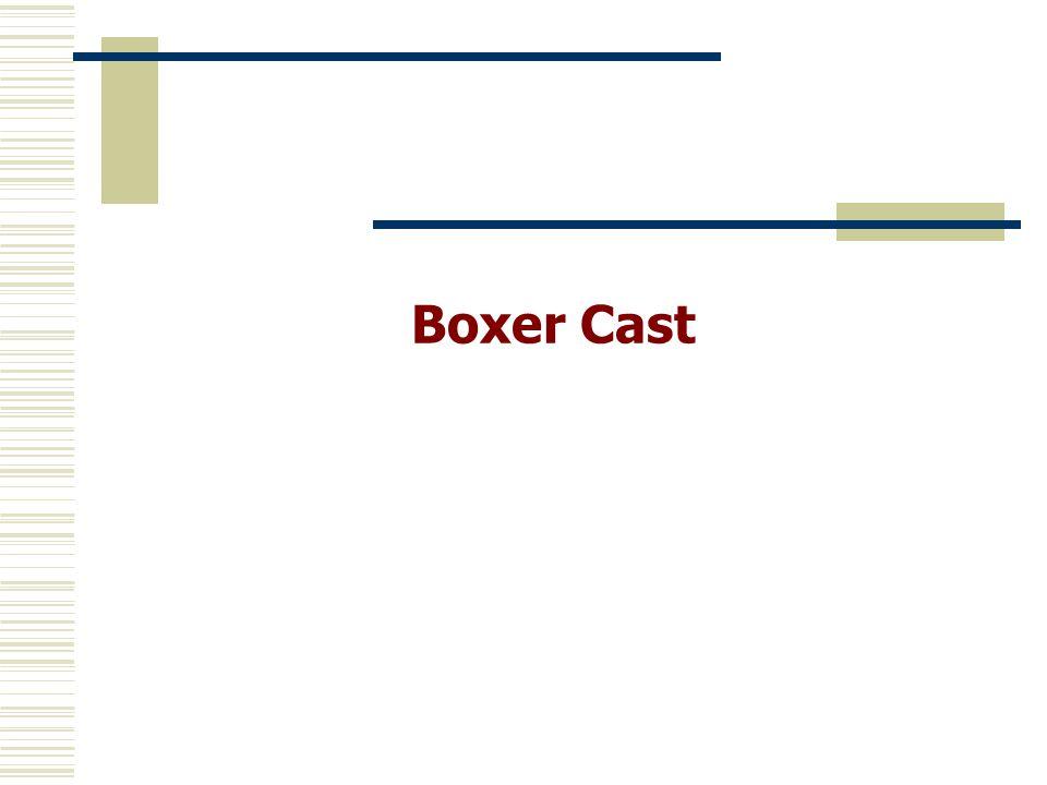 Boxer Cast