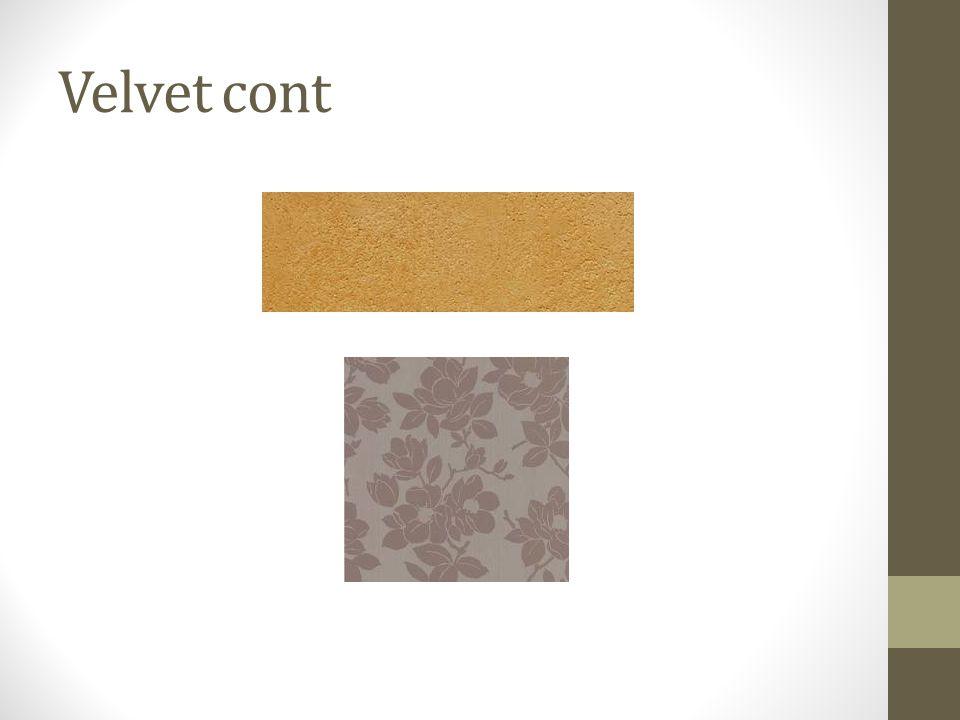 Velvet cont