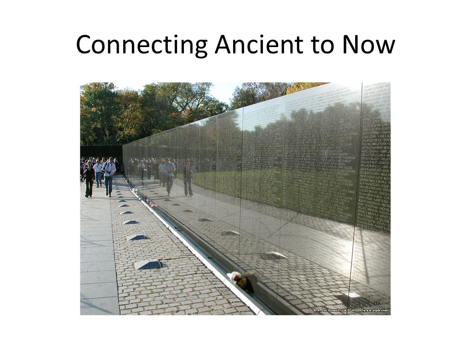 Connecting Ancient to Now