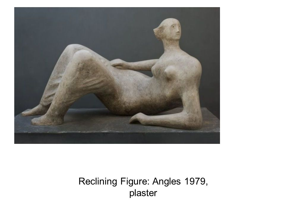 Reclining Figure: Angles 1979, plaster