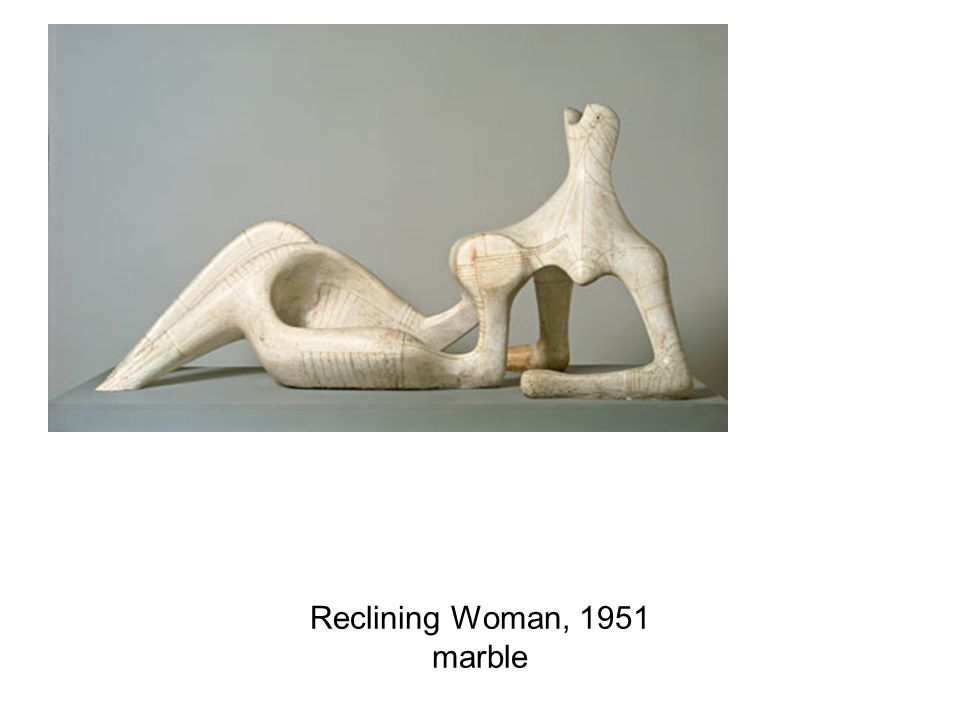 Reclining Woman, 1951 marble
