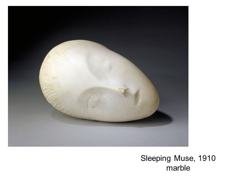 Sleeping Muse, 1910 marble