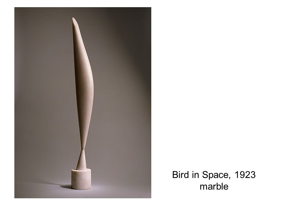 Bird in Space, 1923 marble