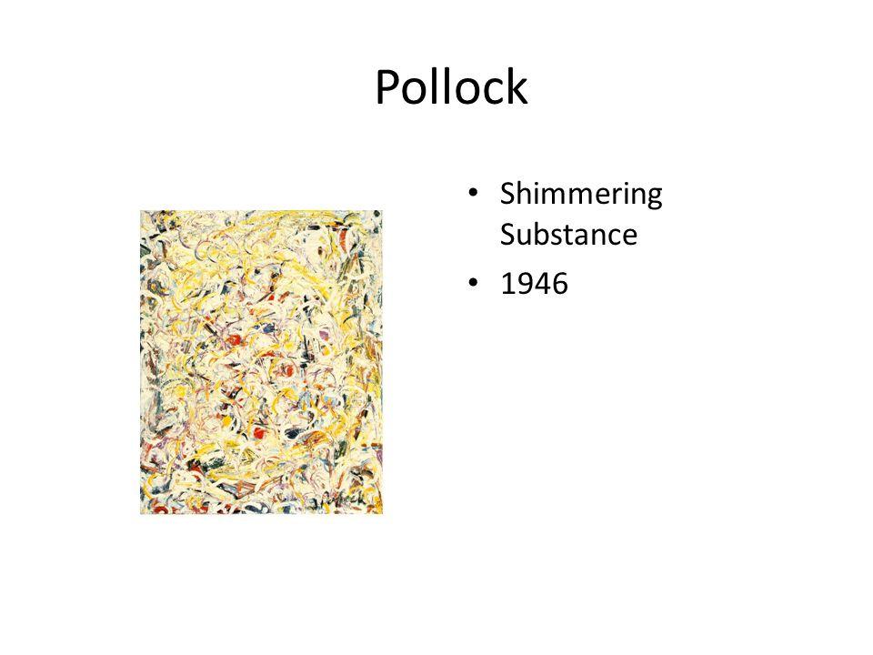 Pollock 9 Mural Oil on canvas 1943 7'x20'