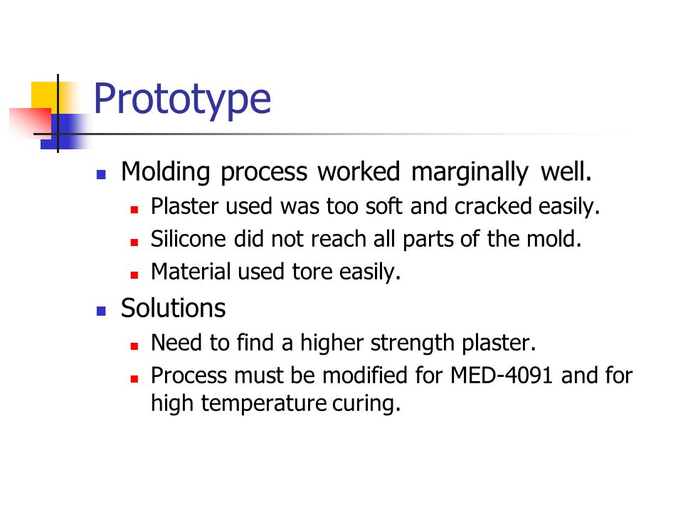 Improvements for Final Product Use better silicone material.