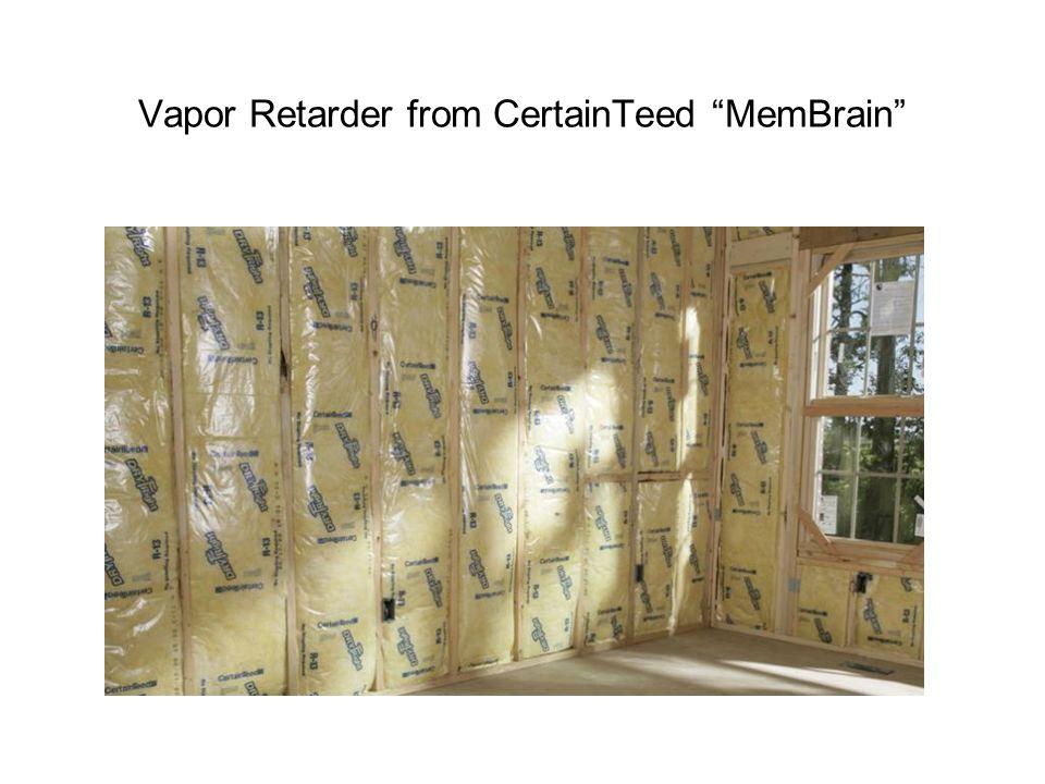 Vapor Retarder from CertainTeed MemBrain