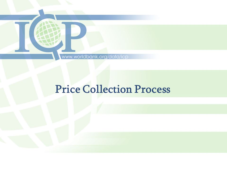 Price Collection Process
