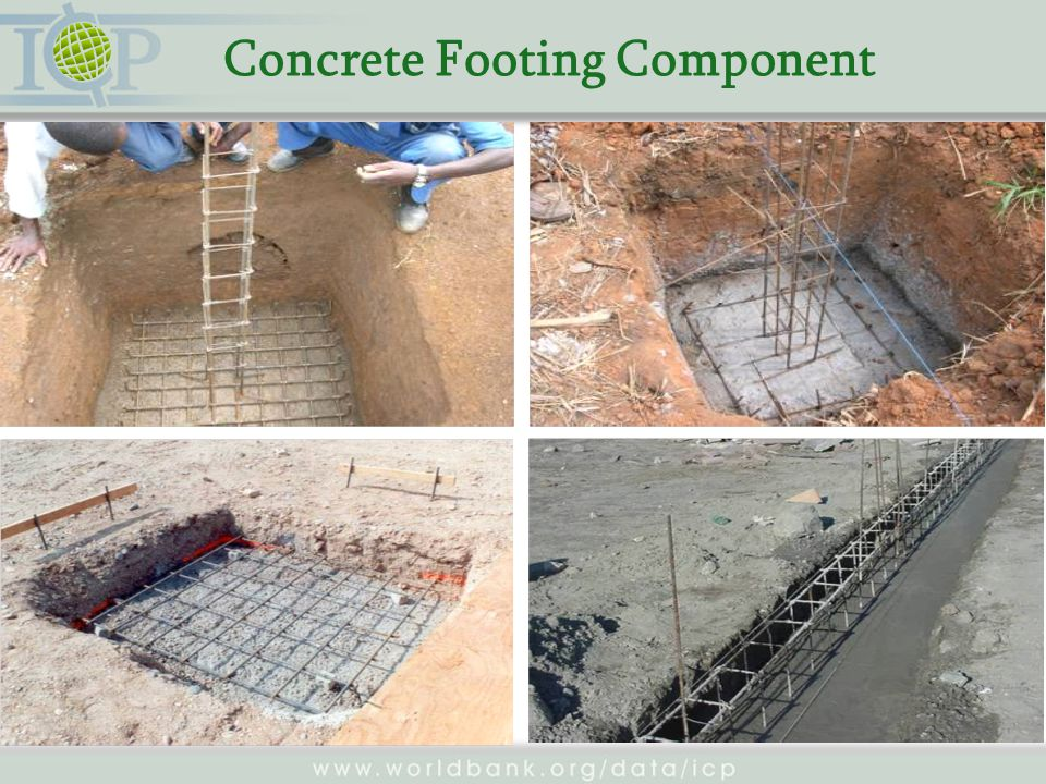 Concrete Footing Component