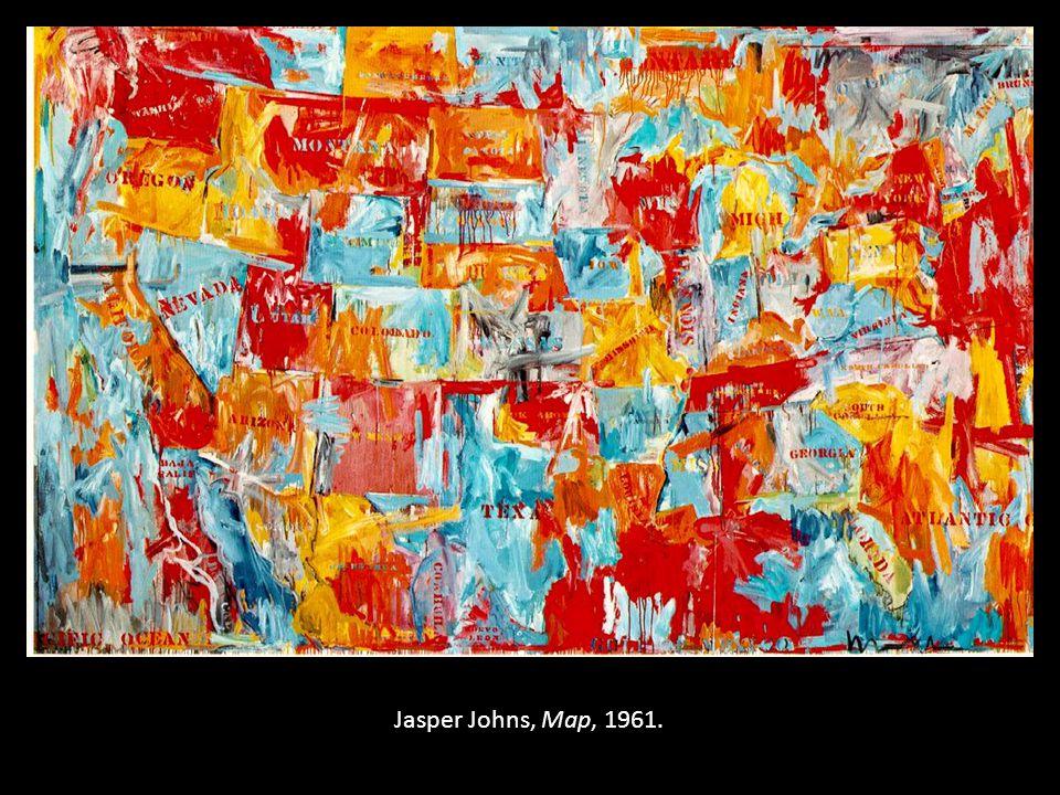 Jasper Johns, Map, 1961.