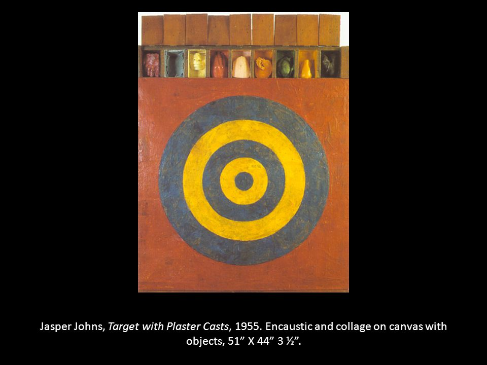 Jasper Johns, Target with Plaster Casts, 1955.