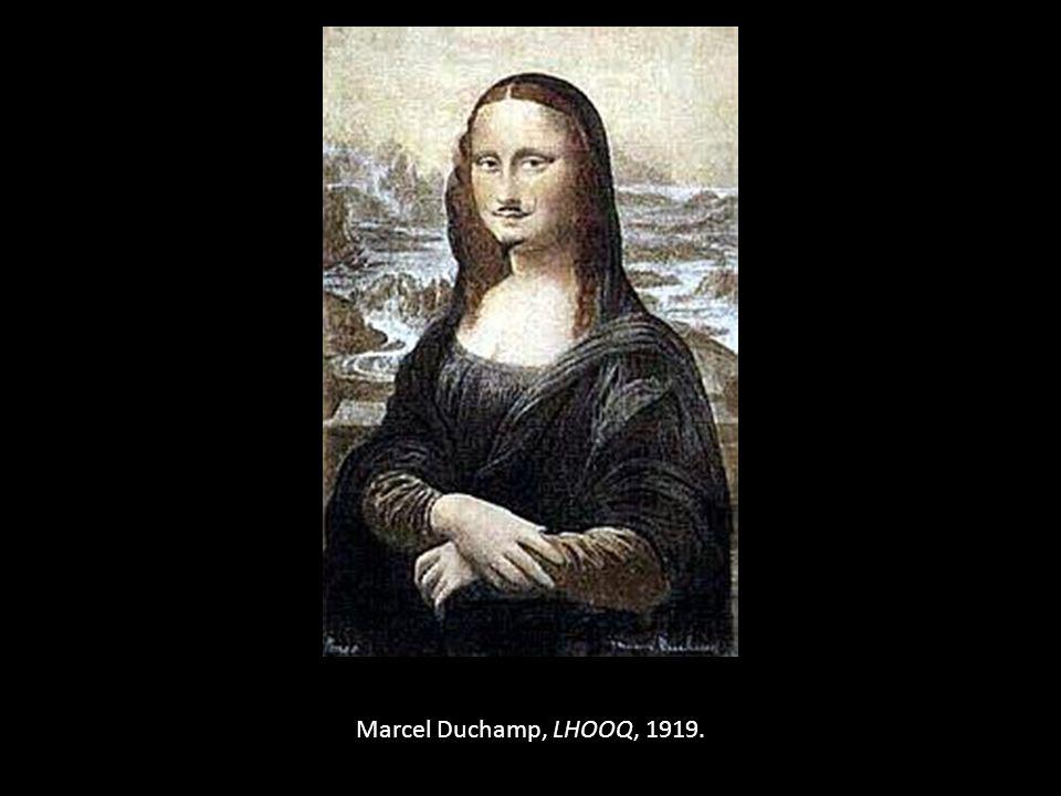 Marcel Duchamp, LHOOQ, 1919.