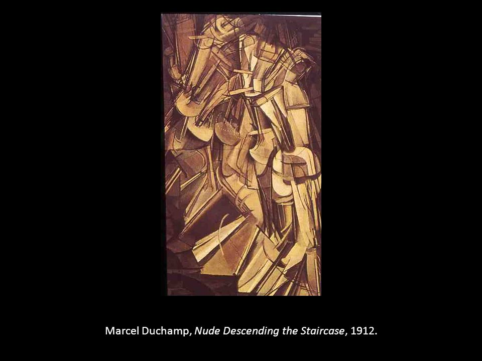 Marcel Duchamp, Nude Descending the Staircase, 1912.