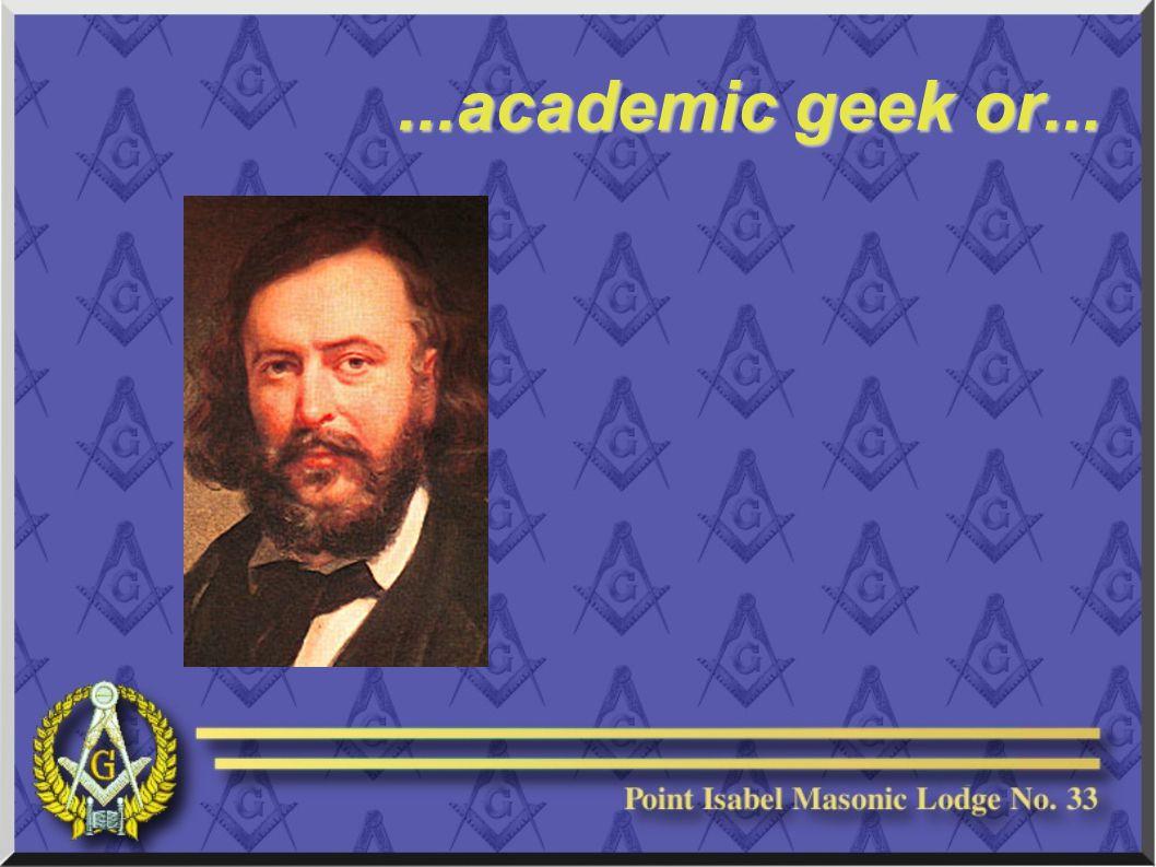 ...academic geek or...
