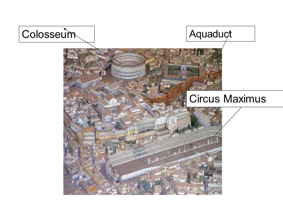 Colosseum Circus Maximus Aquaduct