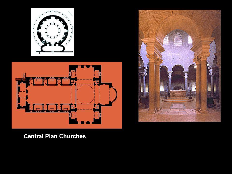 Central Plan Churches