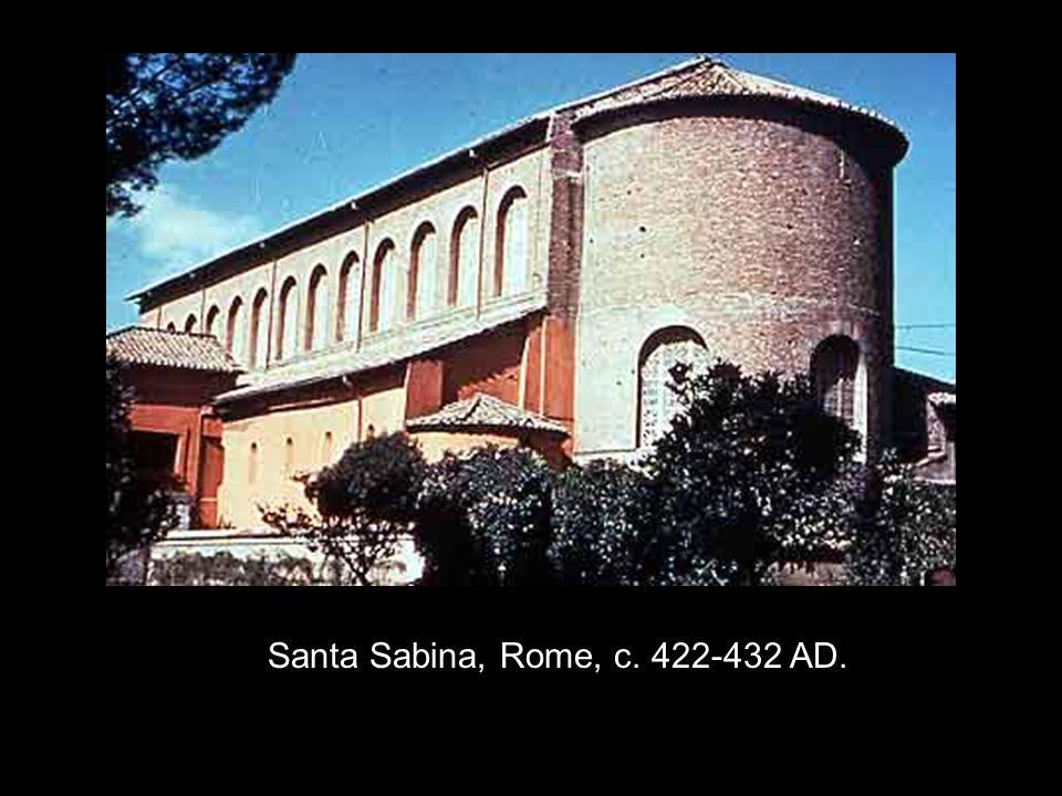 Santa Sabina, Rome, c. 422-432 AD.