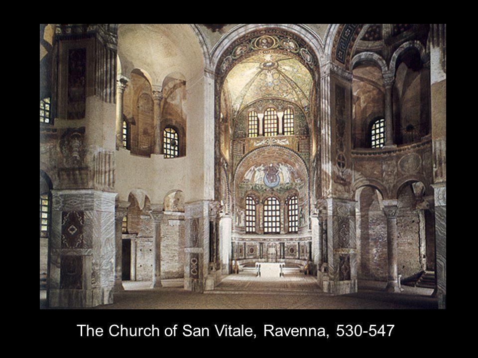 The Church of San Vitale, Ravenna, 530-547