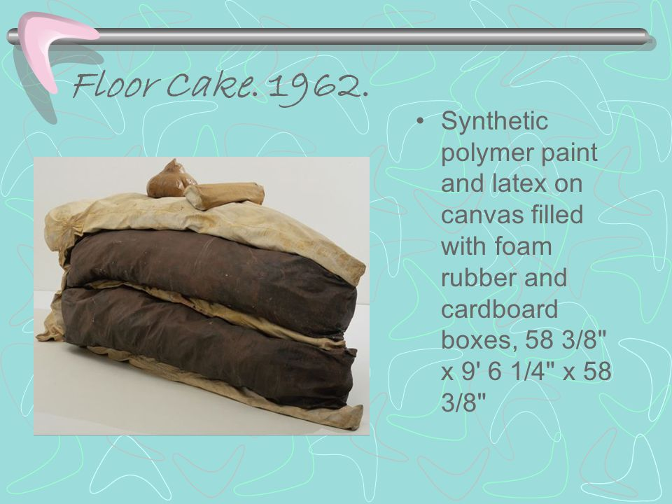 Floor Cake.1962.